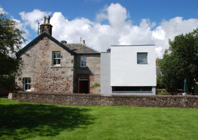Contemporary Extension Scottish Borders Conservation Area (1)
