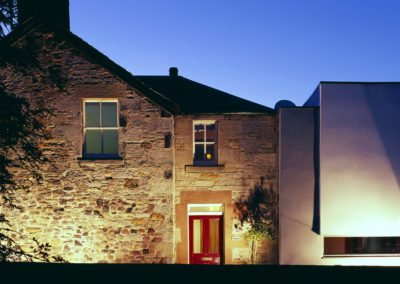 Contemporary Extension Scottish Borders Conservation Area (10)
