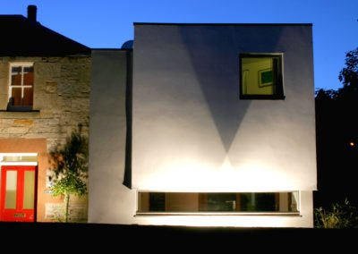 Contemporary Extension Scottish Borders Conservation Area (7)