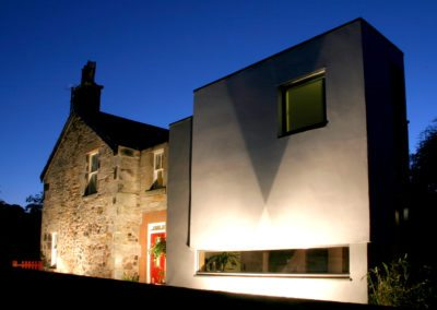 Contemporary Extension Scottish Borders Conservation Area (9)