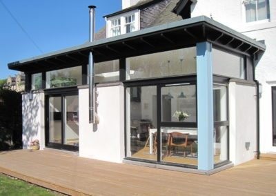 Contemporary Extension Scottish Borders (4)