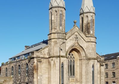 Residential Development Leith Edinburgh Conversion Of Church To Residential And Offices 1