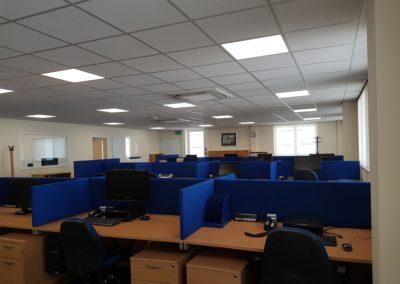 Steel Shed, Industrial, Office Building, Midlothian (1)