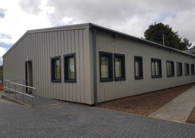 Steel Shed, Industrial, Office Building, Midlothian (18)