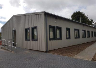 Steel Shed, Industrial, Office Building, Midlothian (18)