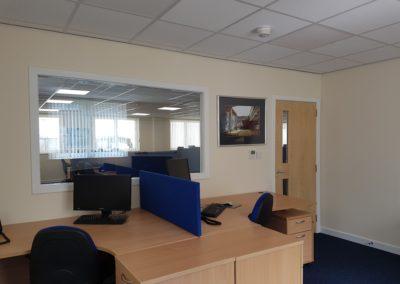 Steel Shed, Industrial, Office Building, Midlothian (9)
