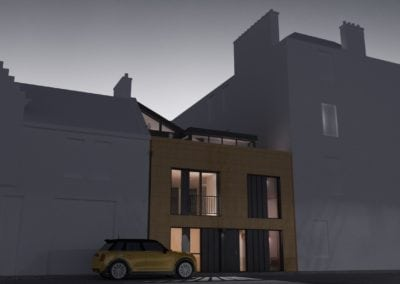 Jefcoate Anderson Contemporary Mews House Edinburgh 4 Night